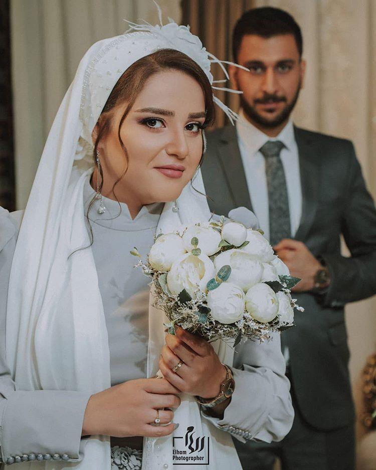 Elham Wedding Photo On Instagram Lovely Couple Parisa Mohammad عکساشون چطوره کدوم عکسو بیشتر دوست دارین Dresses Fashion Wedding Dresses