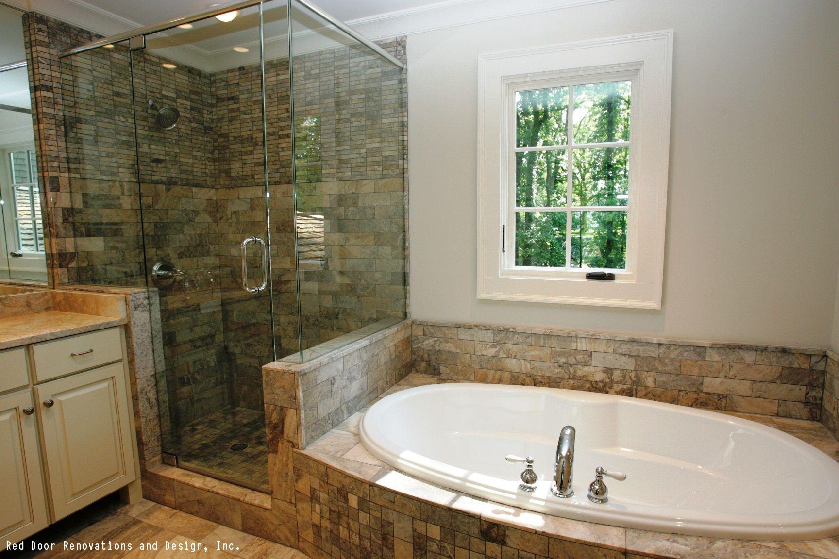Stone Backsplash Costs Installation Types Grades Stone Backsplash Master Bathroom Decor Rustic Bathroom Designs