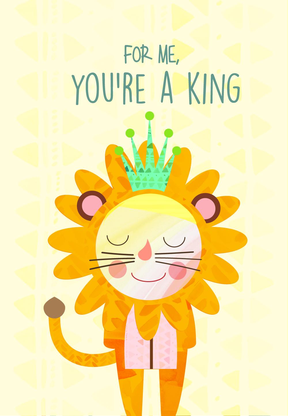 Tarjeta de cumplea os Happy birthday card Dedicado a Liberto – Lion King Birthday Card