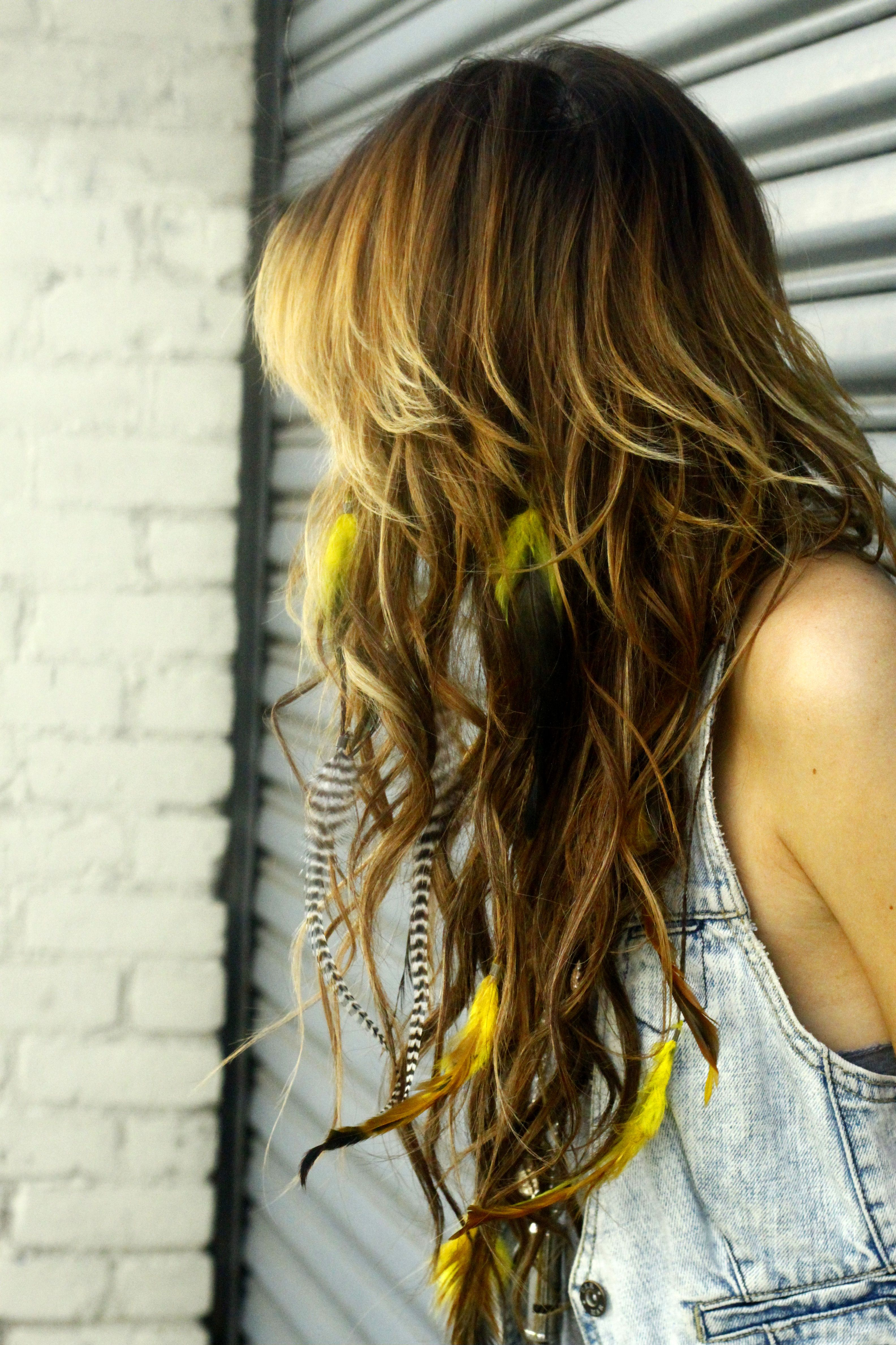 Feather Extensions Are A Must Have For Coachella Hairs Related