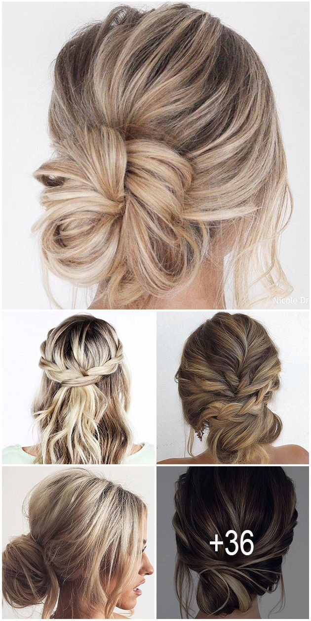 42 Chic And Easy Wedding Guest Hairstyles | Wedding guest hairstyles long, Easy wedding guest ...