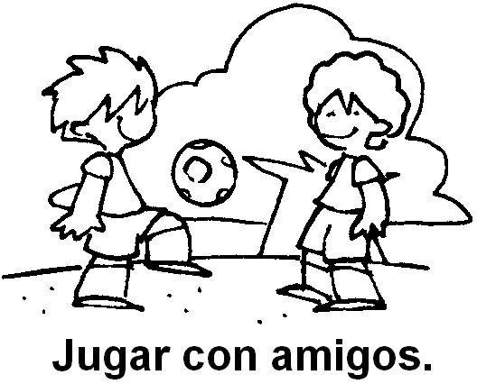 Juego Con Amigos Dibujo Buscar Con Google Imagenes De Amistad