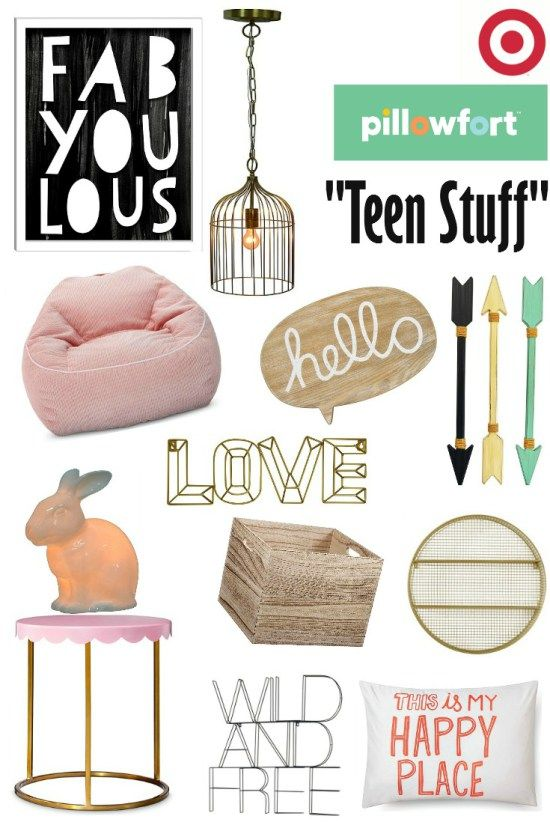 Target 39 s pillowfort teen stuff cool stuff for the - Cool stuff for girls rooms ...