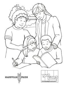 Pin by Desiree on des | Family coloring pages, Mom ...