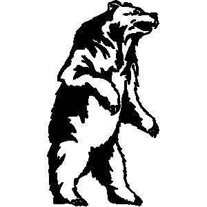 grizzly bear mascot clipart clipart panda free clipart images rh pinterest co uk bear cub mascot clipart bear mascot clipart free