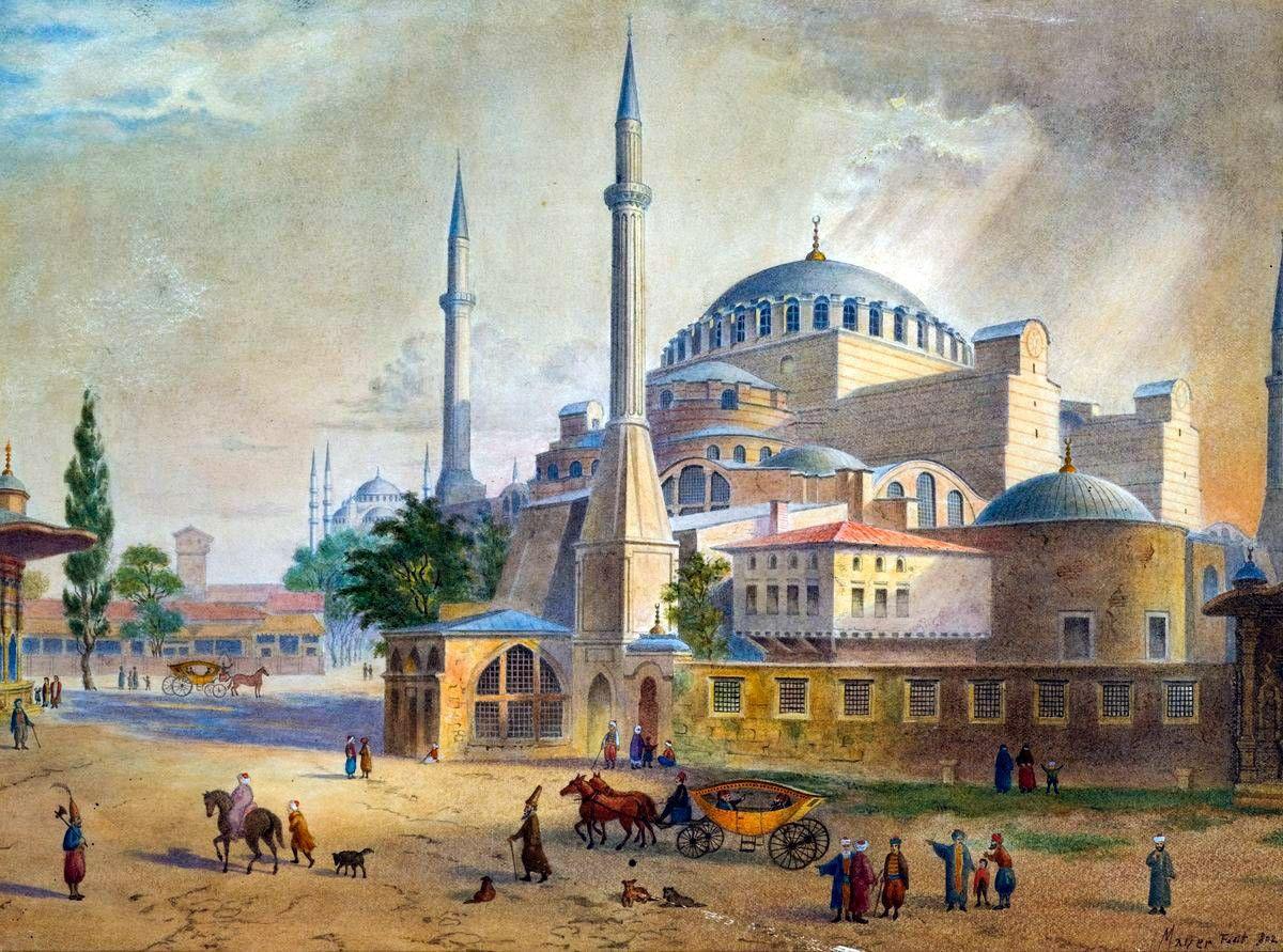Ayasofya Istanbul Hagia Sophia Camii