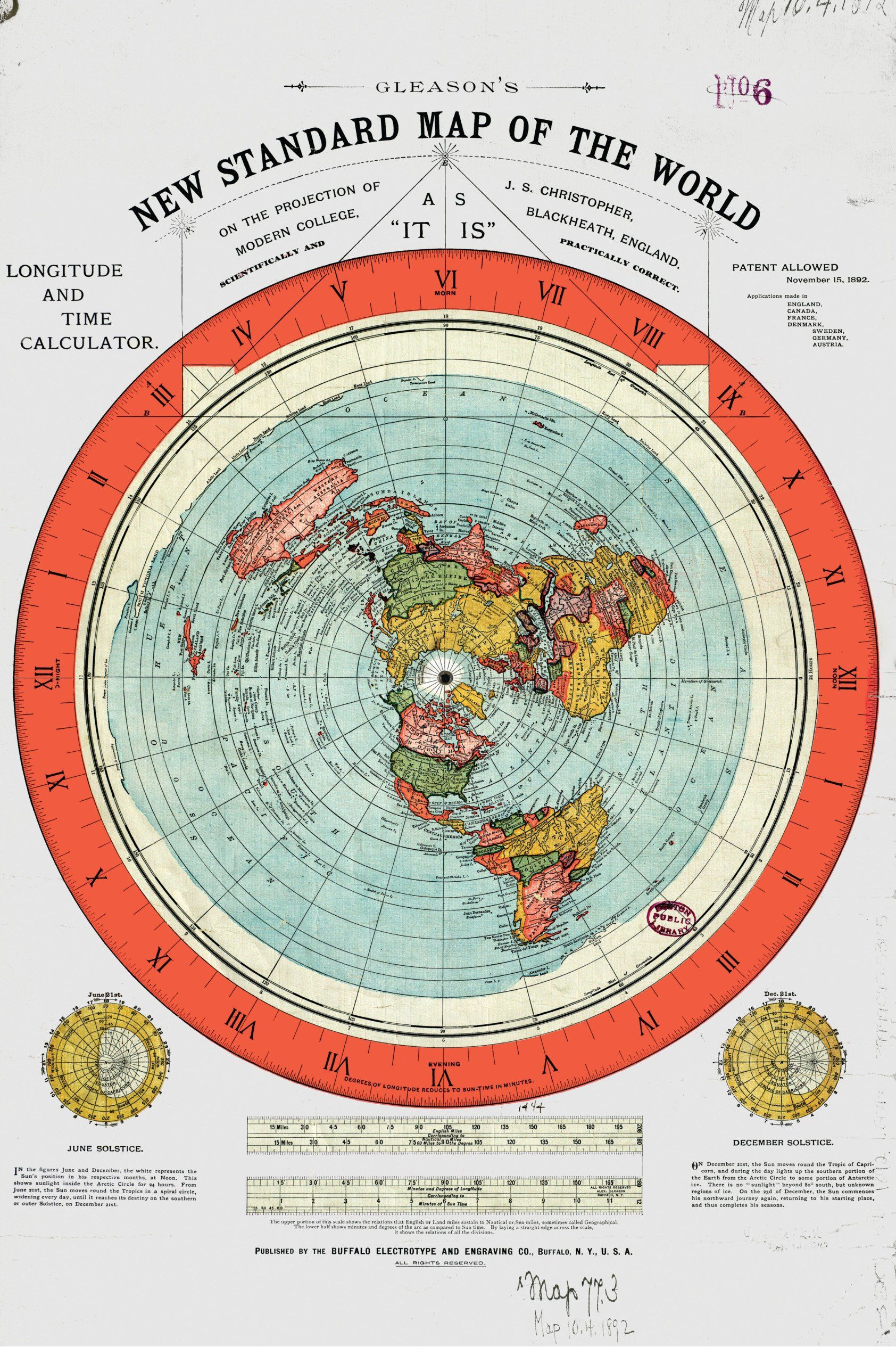 Terra Earth Map.Mappa Della Terra Piatta 1 Ian Pinterest Flat Earth Map And
