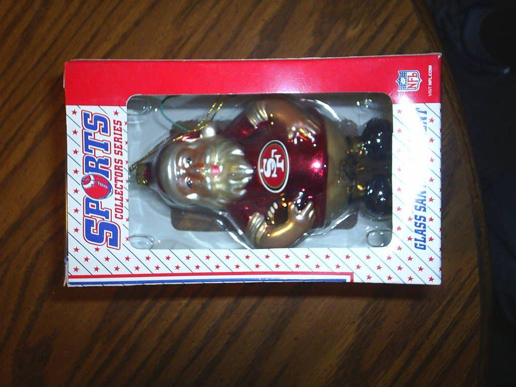 49er Santa X Mas Ordament In Hubbie16u0027s Garage Sale Colorado Springs, CO