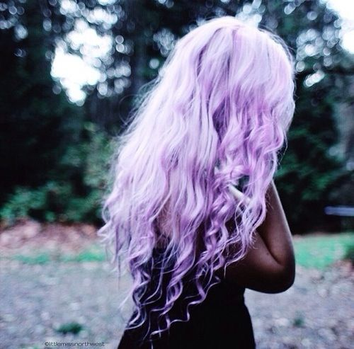 Lilac hair purple hair