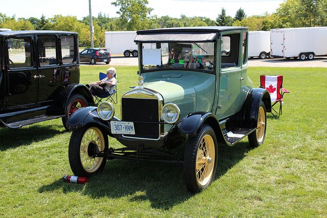 1927 Ford Model T Coupe Antique Cars Vintage Cars Cars Motorcycles Cat