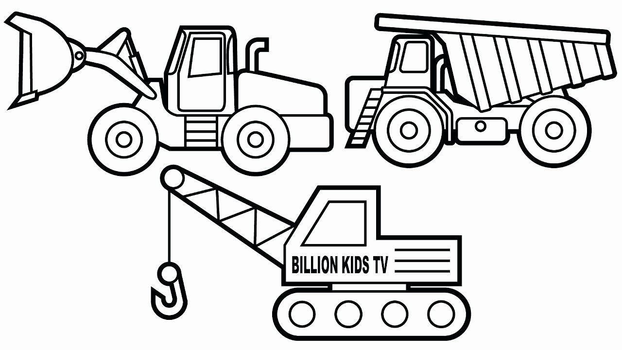 Construction Vehicle Coloring Pages With Images Truck Coloring