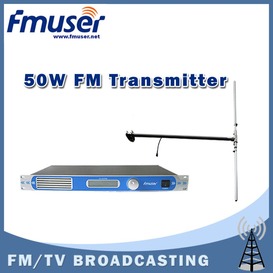 >> Click to Buy << Free shipping FU-30/50B-50W professional FM transmitter 0-50w power adjustable FM radio broadcaster+DP100 DIPOLE antenna Kit #Affiliate