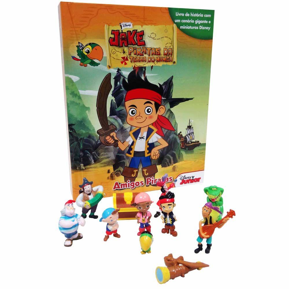 Livro - Jake e os Piratas da Terra do Nunca: Amigos Piratas - Infantil - de 4 a 10 anos no Pontofrio.com