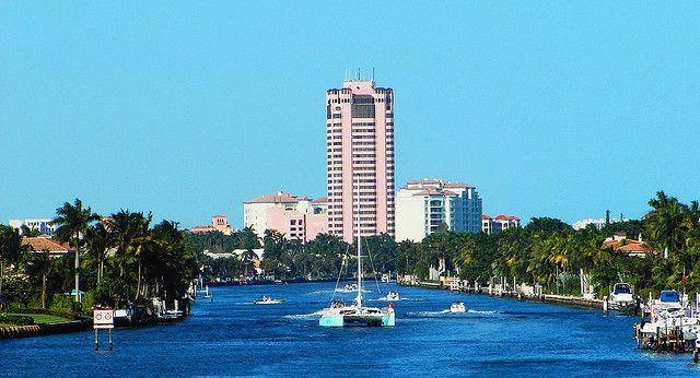 Intercoastal Waterway, Deerfield Beach   zoomed in | Boca