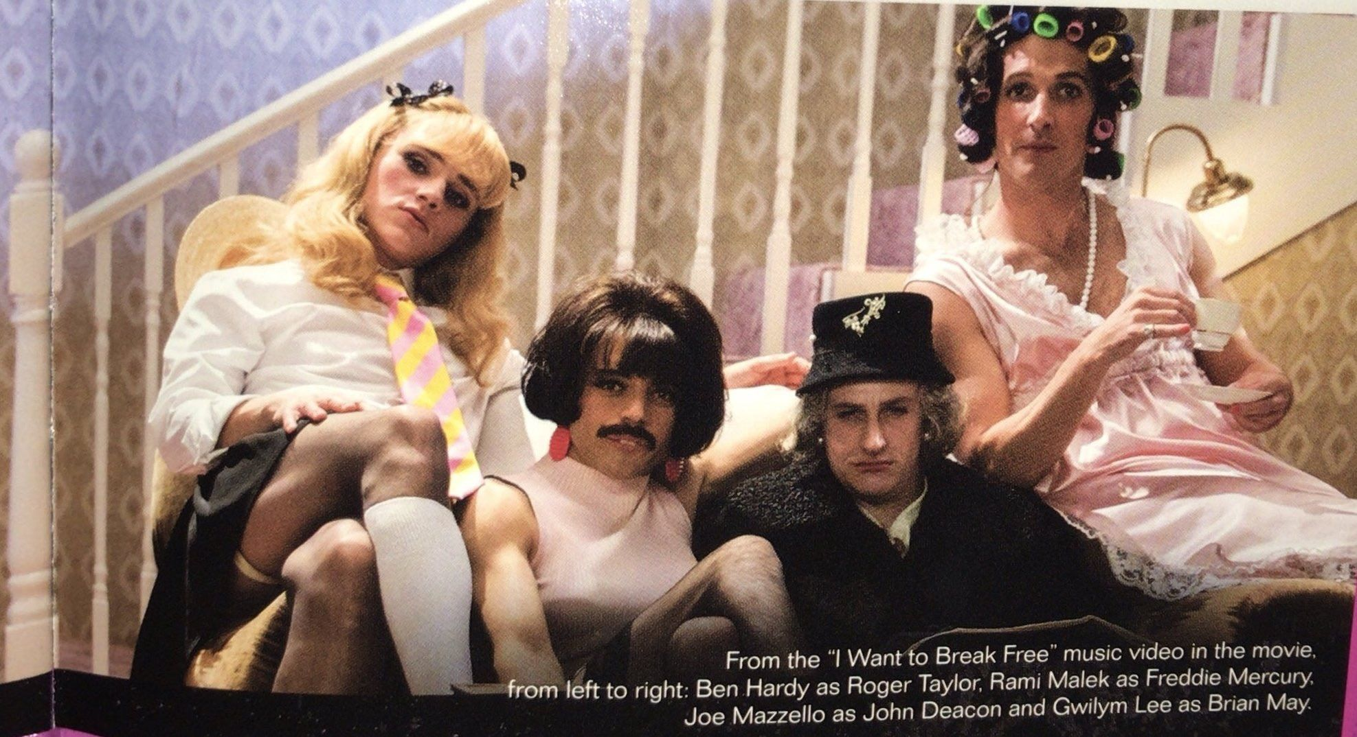 I want full video of IWTBF RIGHT NOW   Queen/BoRhap cast in
