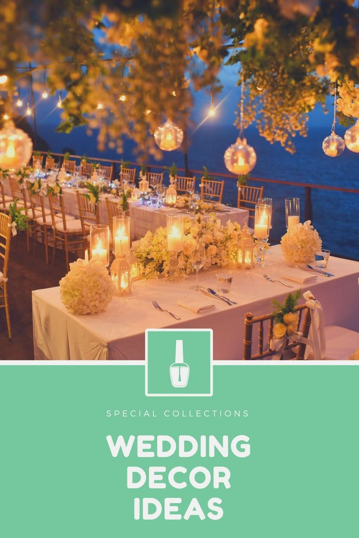 Wedding dinner decoration ideas  Liven Up Your Wedding Ceremony Decoration By Using One Of These