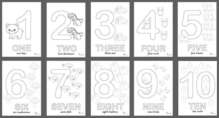 5 Manualidades Faciles Para Aprender Los Numeros Con Imagenes