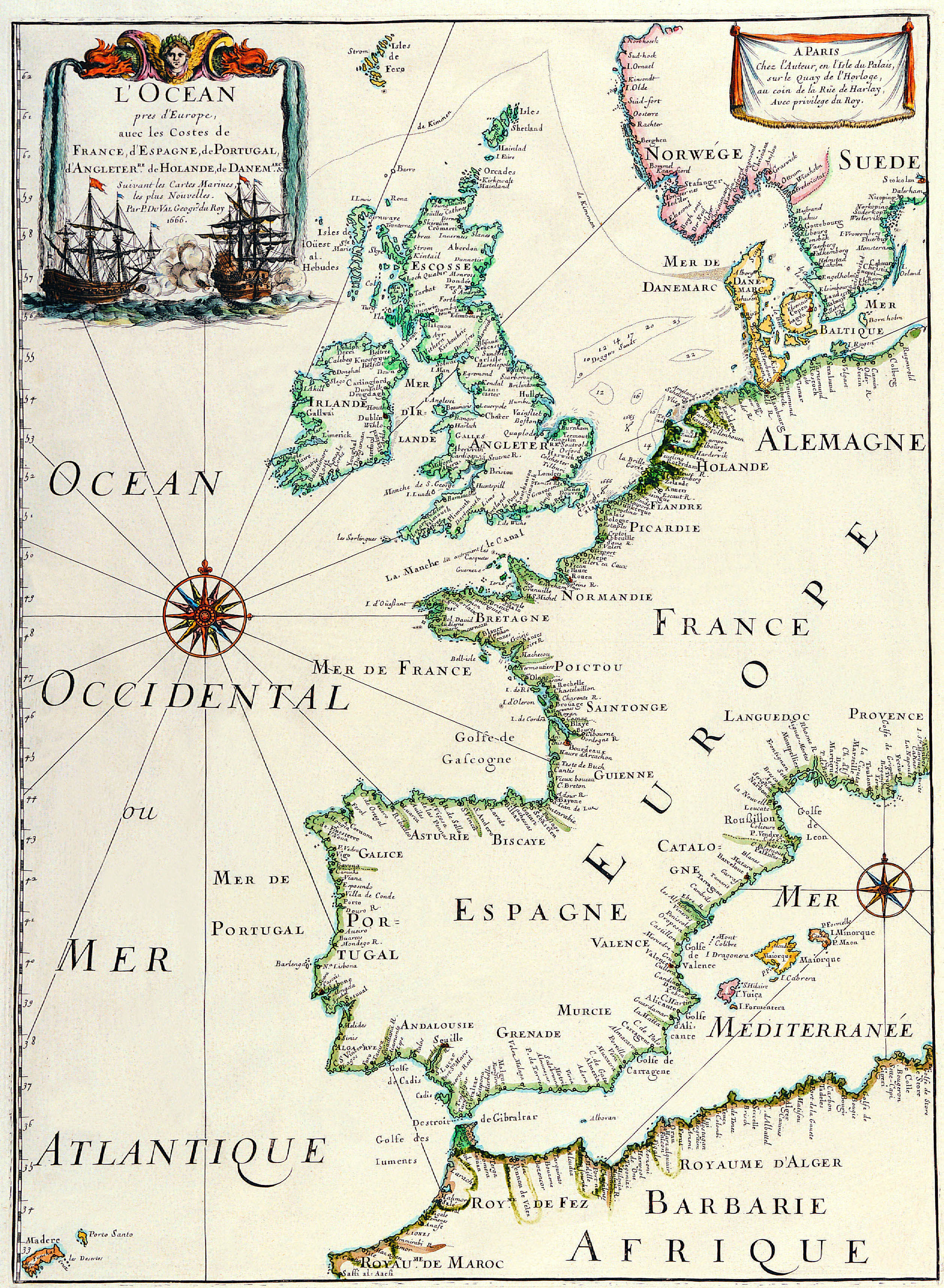 Old maps idea for an explorer or similar character print off maps antique maps of the world map of europe matthaus merian c 1641 by r muirhead art gumiabroncs Gallery