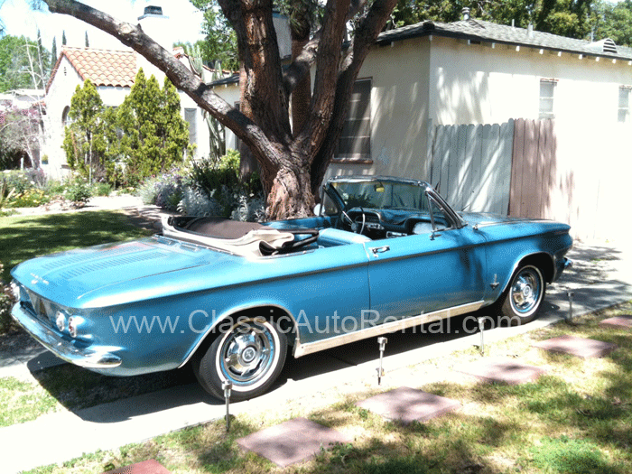 1964 Chevrolet Corvair Convertible Blue With White Top Chevrolet Corvair Chevrolet Convertible