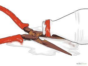 d tacher la rouille du m tal produits fait maison pinterest rouille m tal et nettoyage. Black Bedroom Furniture Sets. Home Design Ideas