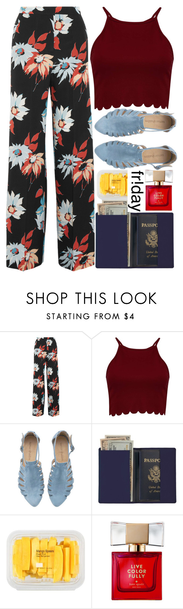 """Slay Every Day"" by lseed87 ❤ liked on Polyvore featuring Etro, Royce Leather, MANGO, Kate Spade, floral and Flowers"