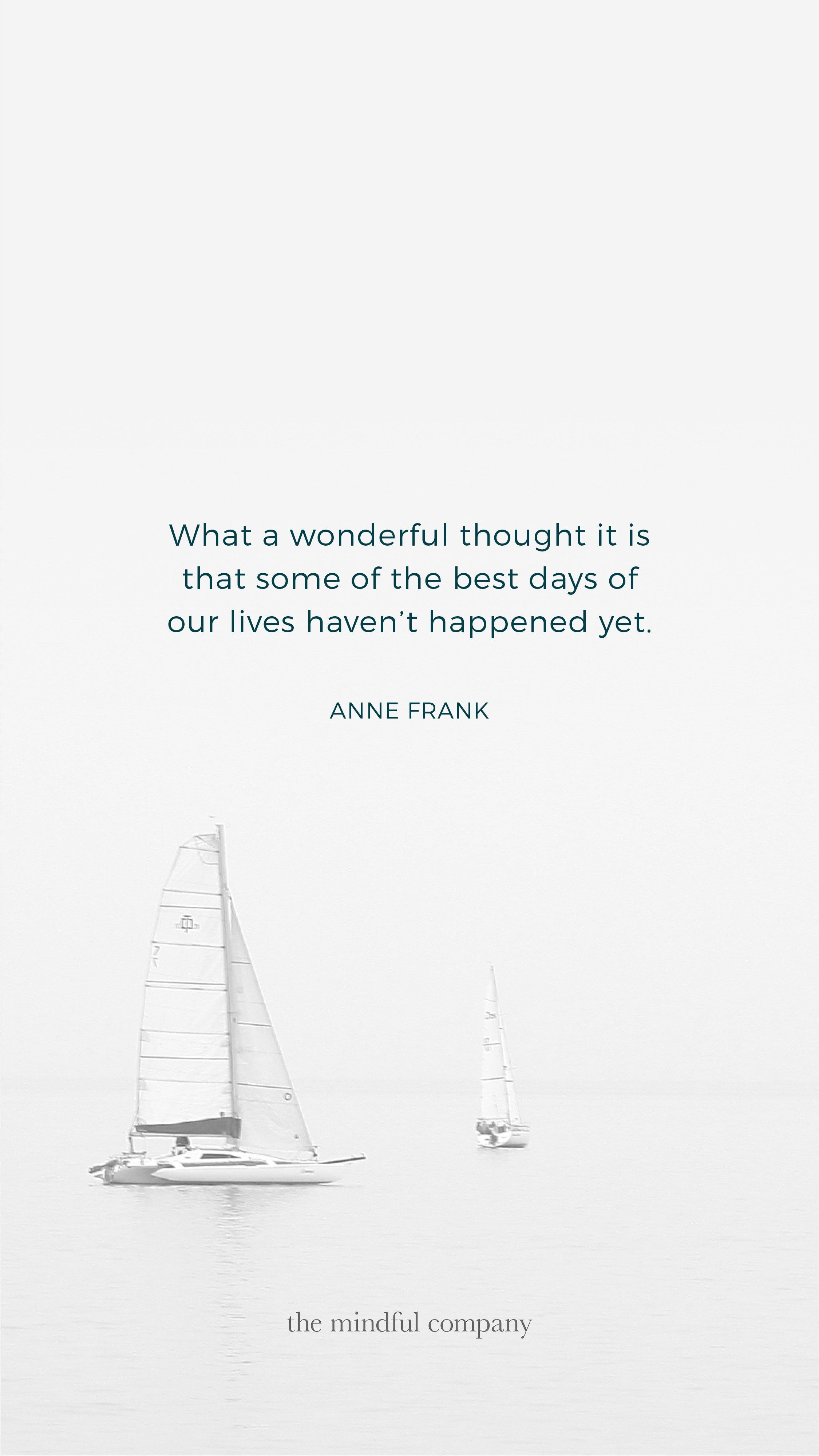 Wallpaper Of The Month Anne Frank Tmc Mobile Wallpaper Quotes