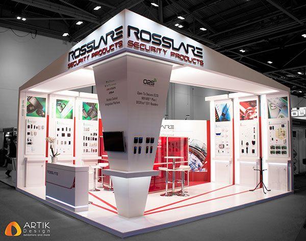 Exhibition Booth London : Rosslare ifsec london on behance exhibit design