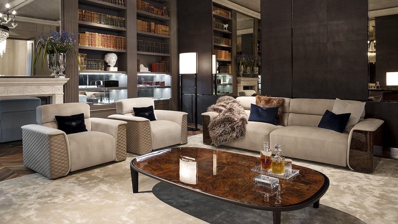 Bentley Home Luxury Sofa Living Room Modern Classic Furniture Luxury Furniture