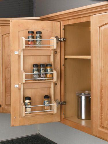 9 58 Wide Small Door Mount Spice Rack At Menards Simple
