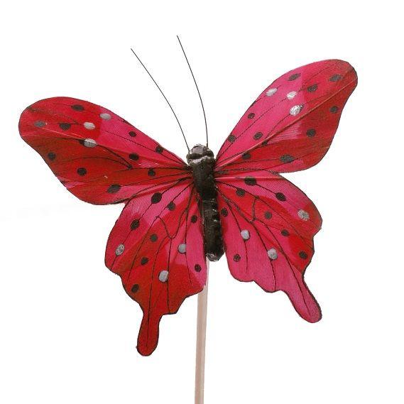 Mariposas decorativas pick mariposa para decorar plantas mariposas decorativas para bouquet de - Mariposas para decorar ...