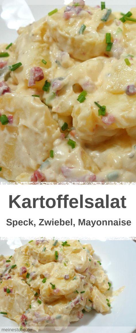 Photo of Kartoffelsalat mit Speck und Mayonnaise, für jeden Anlass – MeineStube