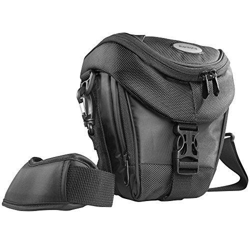 Mantona Colt SLR-Kameratasche (Universaltasche inkl. Schnellzugriff, Staubschutz, Tragegurt und Zubehörfach) schwarz - http://kameras-kaufen.de/mantona/mantona-colt-slr-kameratasche-universaltasche