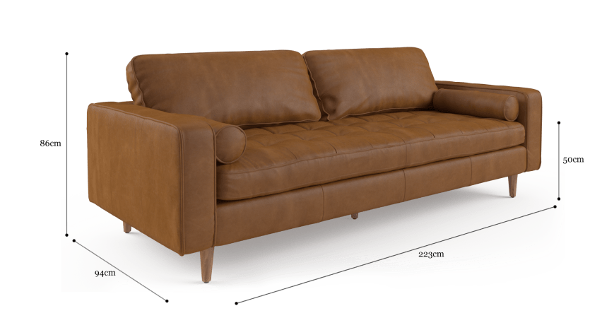 Astonishing Sargent Leather 3 Seater Sofa Apartment Front Lounge 2 Alphanode Cool Chair Designs And Ideas Alphanodeonline
