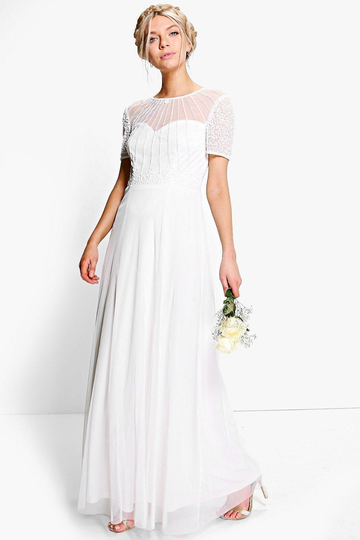 Skater style wedding dress