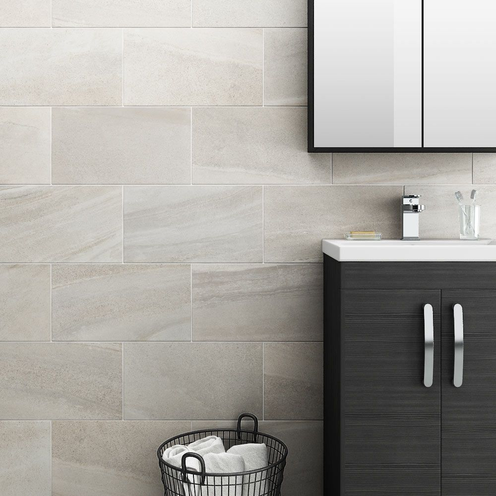 Oceania Stone White Wall Tiles | White wall tiles, Wall tiles and ...