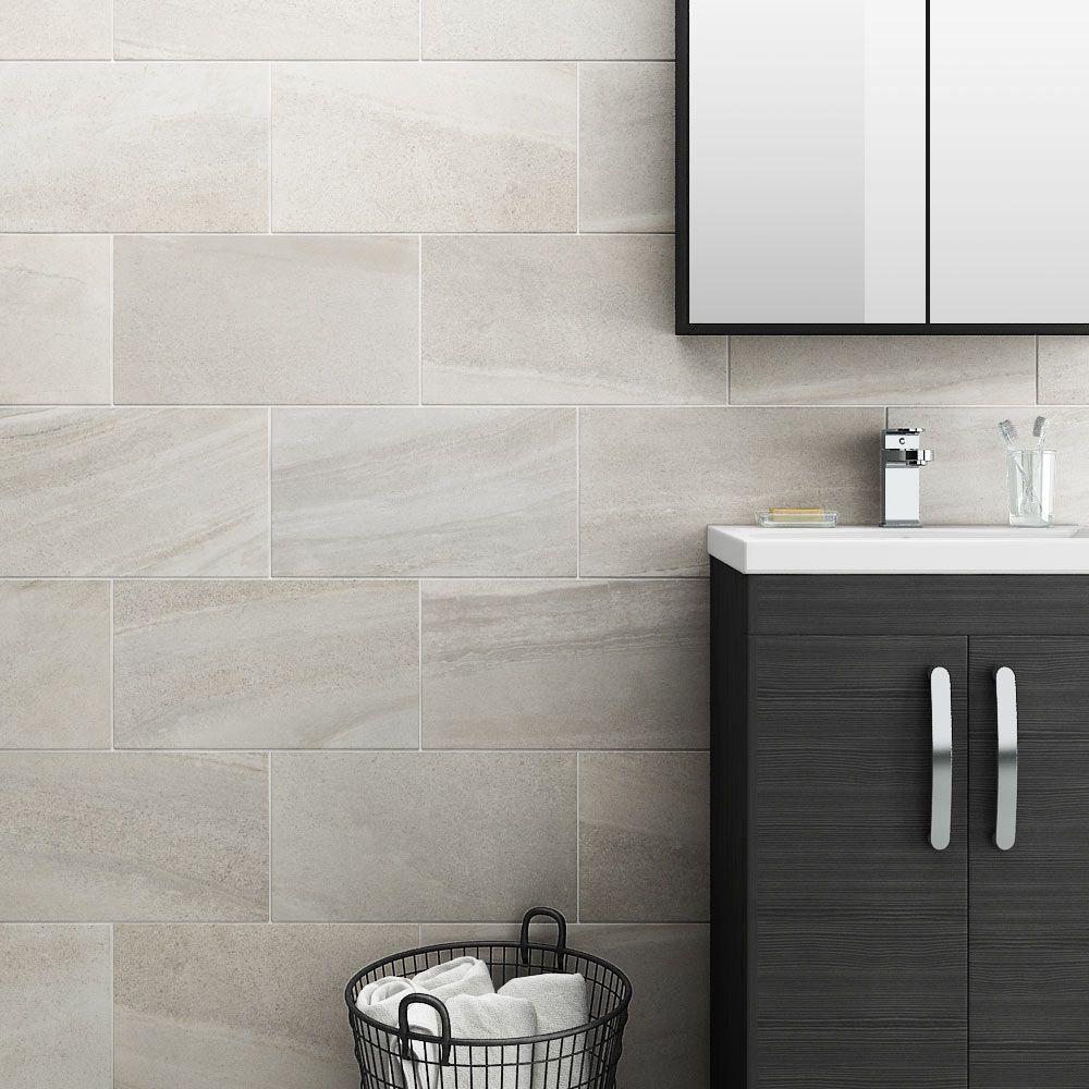 Oceania Stone White Wall Tiles At Victorian Plumbing Co Uk White Wall Tiles Bathroom Wall Tile Small Bathroom Tiles