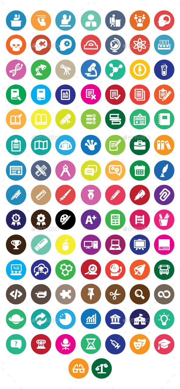 Educational Icon Business icons vector, Business icon