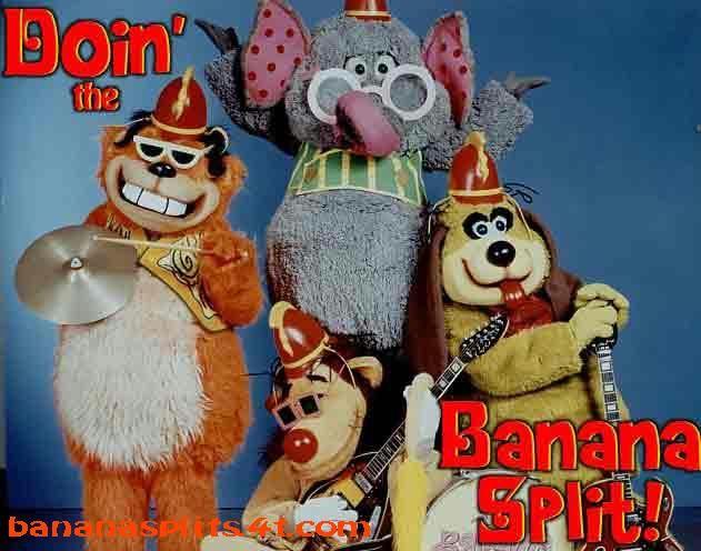 Akakjkaj Estos Monos Son Mas Raros Banana Split Banana Splits Cartoon Vintage Cartoon