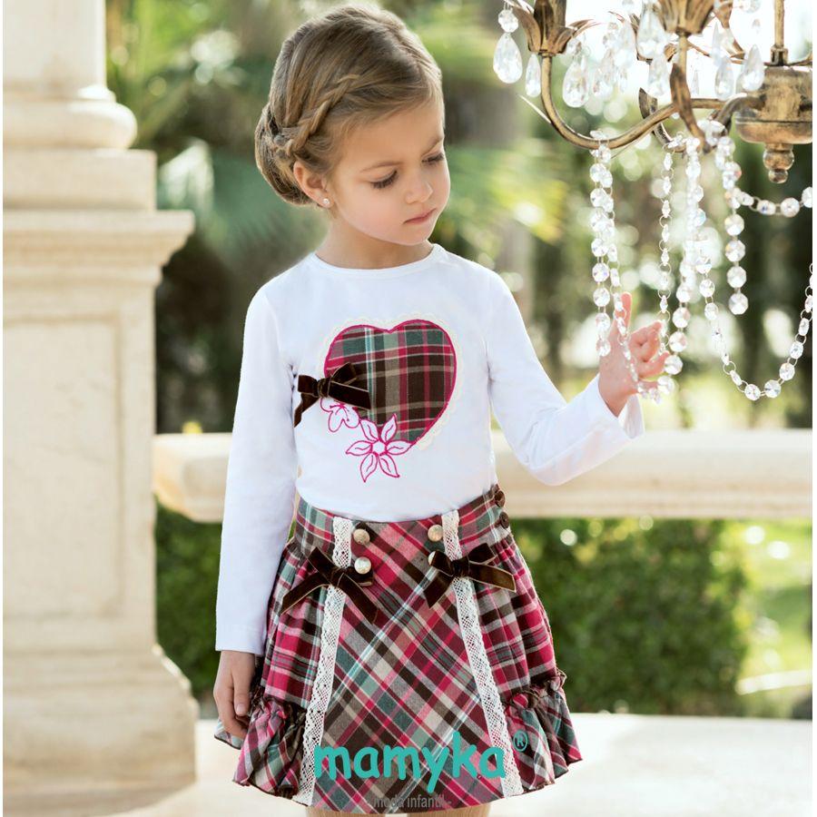 82714c5be601 Pin de Lupe en ropa niñoas | Vestidos para niñas, Ropa para niñas y ...