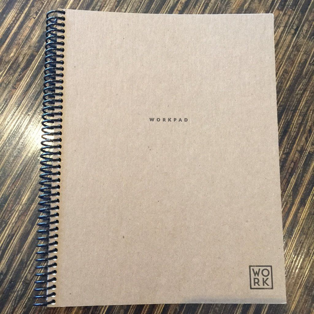 Letter Size Workpad