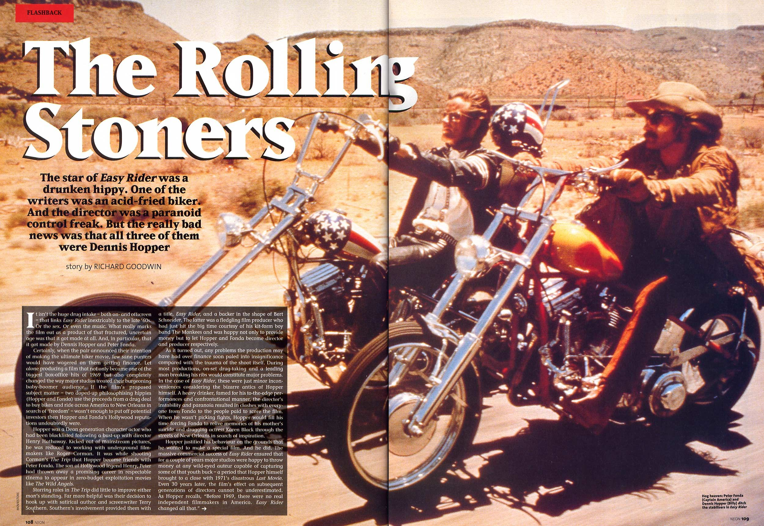 "Neon Magazine: ""Flashback 1969: Easy Rider"" (1)"