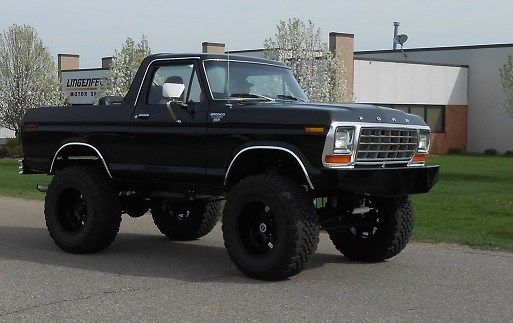 1986 ford f 150 4x4 lifted 1980 bronco parts truck 1974 Ford Bronco Lifted 5 Inch Lift Ford Bronco