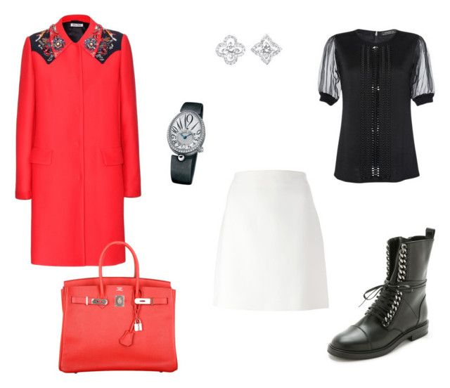 """""""Без названия #929"""" by z777 ❤ liked on Polyvore featuring Casadei, Andrew Gn, Fendi, Miu Miu, Hermès, Louis Vuitton and Breguet"""