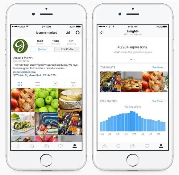 Instagram ofrecerá opciones para negocios