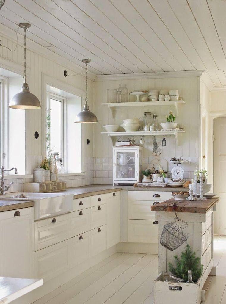 Kleine Küche mit Center Island oder Bar 24 Ideen des