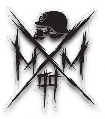 Metal Mulisha Owned Sticker