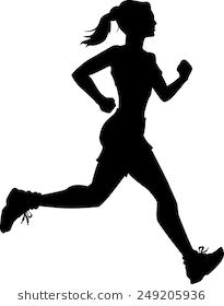 Image Result For Female Runner Silhouette Images Silhouette Images Silhouette Female Runner
