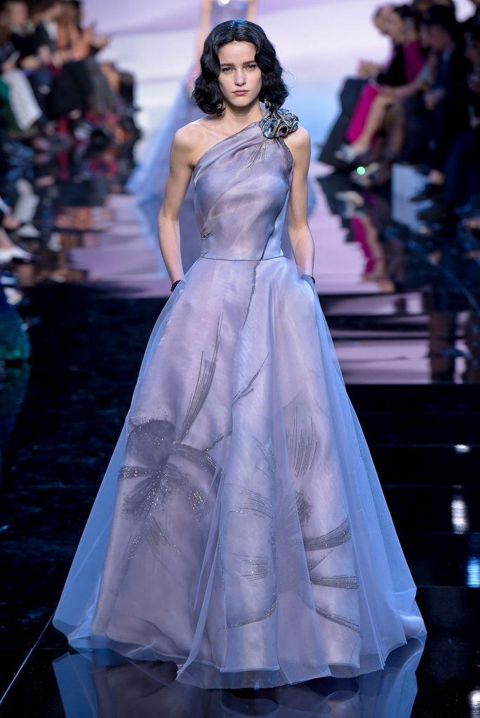 Giorgio Armani Privé Spring 2016 Couture | Beautiful ...