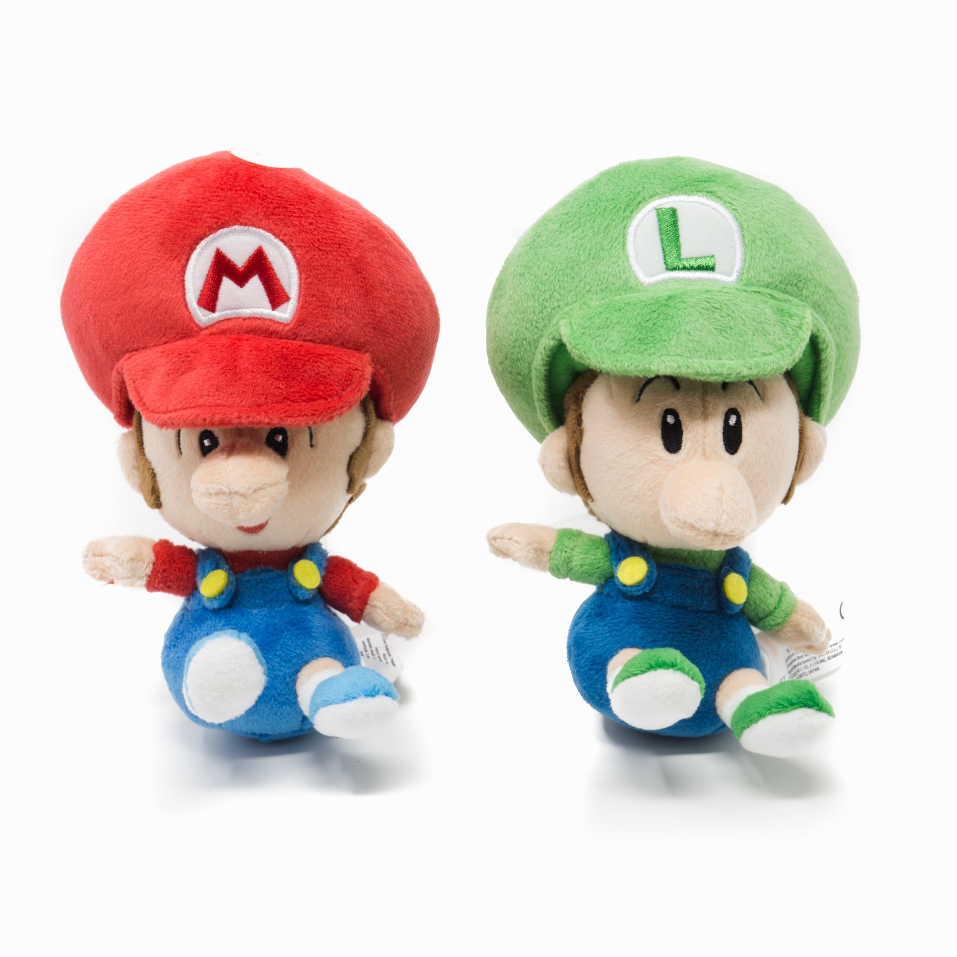 Super Mario Baby Mario And Baby Luigi Plush Super Mario Mario