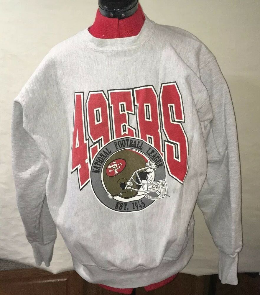 43a14afd10da Trench Ultra Mens XL Vintage VTG San Francisco 49 ers Logo ...